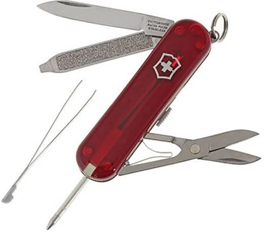 Schweizer Taschenmesser Anzahl Funktionen 7 Victorinox Signature Rubin 0.6225.T Rot (transparent)