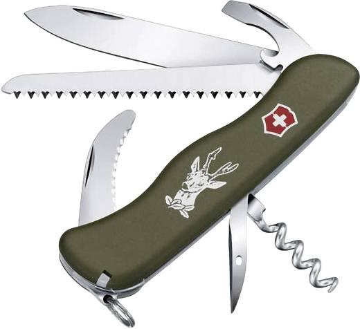 Schweizer Taschenmesser Anzahl Funktionen 12 Victorinox Hunter OD 0.8873.4 Olive-Grün