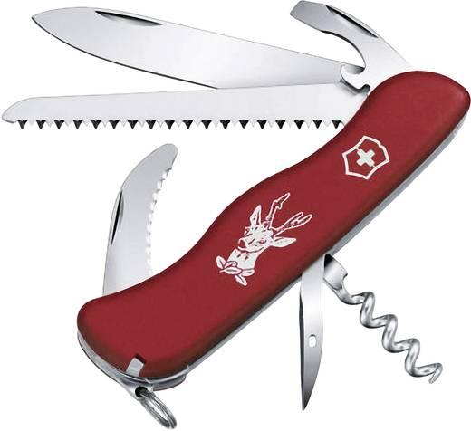 Schweizer Taschenmesser Anzahl Funktionen 12 Victorinox Hunter 0.8873 Rot