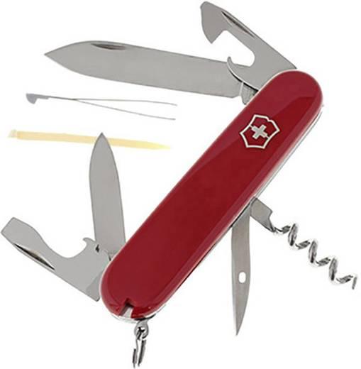 Schweizer Taschenmesser Anzahl Funktionen 12 Victorinox Spartan 1.3603 Rot