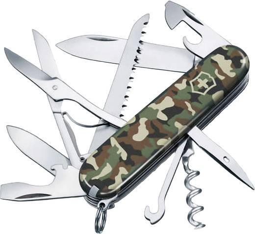 Schweizer Taschenmesser Anzahl Funktionen 15 Victorinox Huntsman 1.3713.94 Camouflage