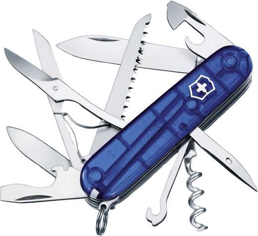 Schweizer Taschenmesser Anzahl Funktionen 15 Victorinox Huntsman 1.3713.T2 Blau (transparent)