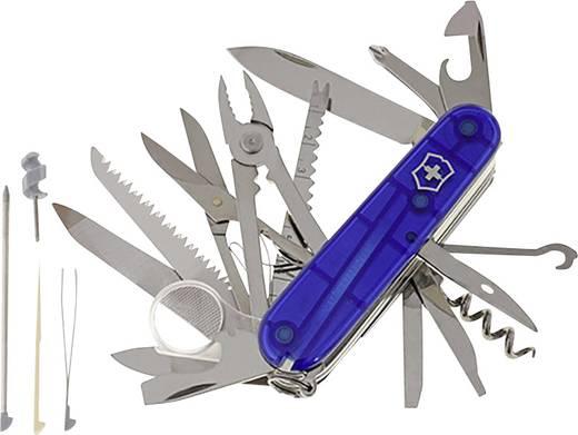Victorinox SwissChamp 1.6795.T2 Schweizer Taschenmesser Anzahl Funktionen 33 Blau (transparent)