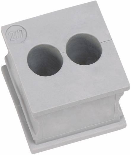 Icotek KT 2/8 Kabeldurchführung geschlitzt Klemm-Ø (max.) 8 mm Elastomer Grau 1 St.