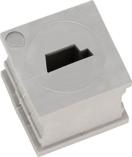 Kabeldurchführung geschlitzt Elastomer Grau Icotek KT-ASI 1 St.