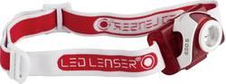 LED čelovka SEO 5 LED Lenser, 6106, červená