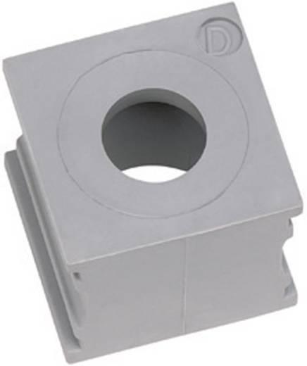 Kabeldurchführung Klemm-Ø (max.) 6.5 mm Elastomer Grau Icotek KTMB-A 1 St.