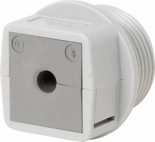 Kabeldurchführung teilbar Polycarbonat Grau Icotek QVT 25 1 St.