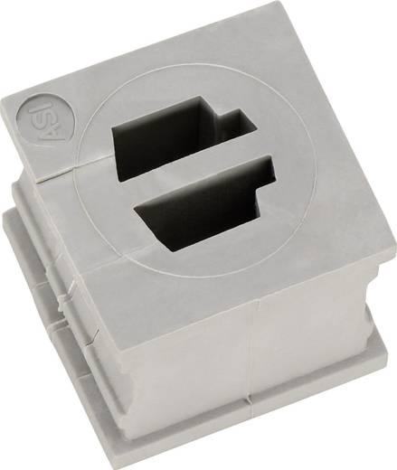 Kabeldurchführung Elastomer Grau Icotek QT ASI 2 1 St.
