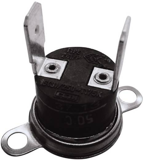 Bimetallschalter 250 V 10 A Öffnungstemperatur (± 5°C) 100 °C Schließ-Temperatur 85 °C ESKA 261-Ö100-S85-V 1 St.