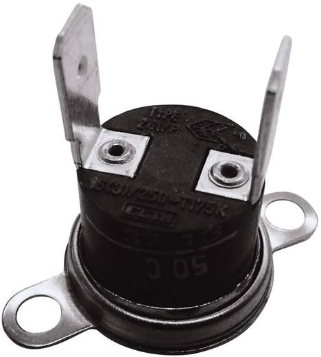 Bimetallschalter 250 V 10 A Öffnungstemperatur (± 5°C) 110 °C Schließ-Temperatur 95 °C ESKA 261-Ö110-S95-V 1 St.