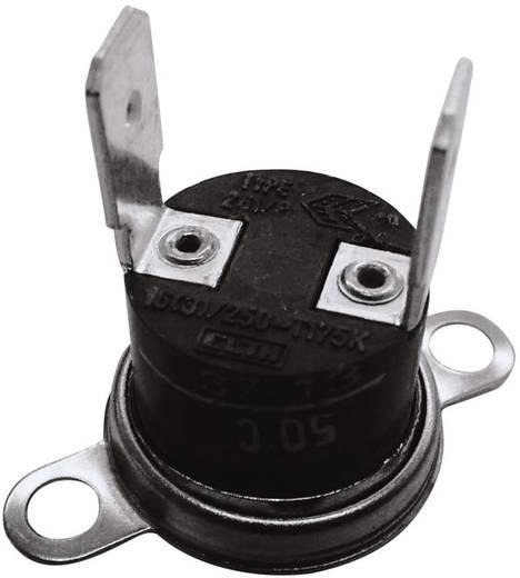 Bimetallschalter 250 V 10 A Öffnungstemperatur (± 5°C) 75 °C Schließ-Temperatur 60 °C ESKA 261-Ö75-S60-V 1 St.