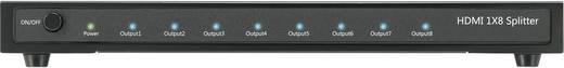 SpeaKa Professional 8 Port HDMI Splitter