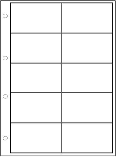 Ordnereinlage (L x B x H) 305 x 231 x 16.8 mm Weltron Anzahl Fächer: 10 feste Unterteilung