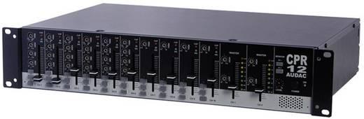 Audac CPR12 - Zweizonen 10 Kanal stereo Vorverstärker 420 mm