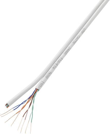 Netzwerkkabel CAT 5e U/UTP 8 x 2 x 0.196 mm² Weiß Conrad Components H21204C7 50 m