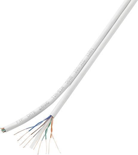 Netzwerkkabel CAT 6 U/UTP 8 x 2 x 0.196 mm² Weiß Conrad Components H21204C17 10 m