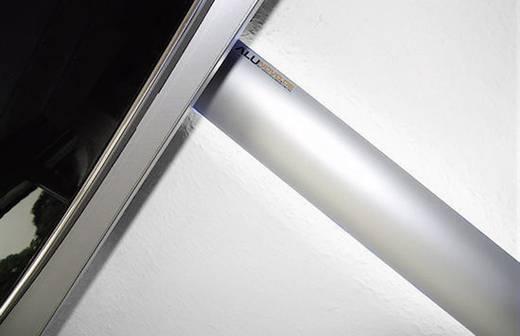 Kabelkanal (L x B x H) 1000 x 80 x 20 mm Alunovo AL90-100 1 St. Silber (matt, eloxiert)