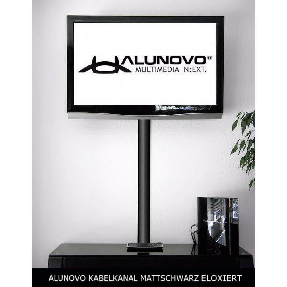 alunovo se90 050 kabelkanal l x b x h 500 x 80 x 20 mm 1 st schwarz eloxiert im conrad. Black Bedroom Furniture Sets. Home Design Ideas