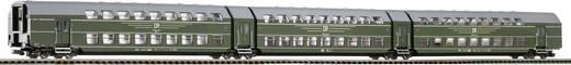 Piko H0 53181 H0 3teiliger Doppelstock-Gliedezug der DR 3teilig