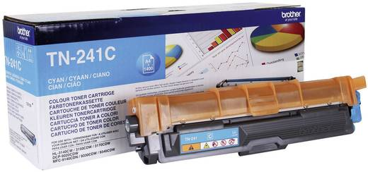 Brother Toner TN-241C TN241C Original Cyan 1400 Seiten