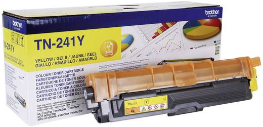 Brother Toner TN-241Y TN241Y Original Gelb 1400 Seiten