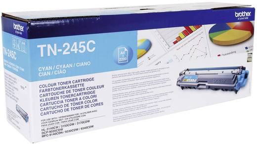 Brother Toner TN-245C TN245C Original Cyan 2200 Seiten
