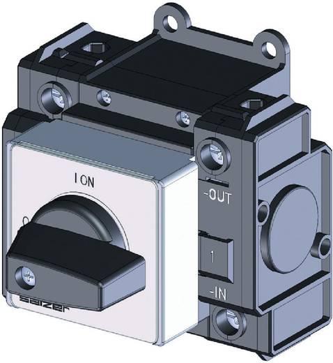 Lasttrennschalter Gleichspannung 20 A 1000 V 1 x 90 ° Schwarz Sälzer D241-83200-026M1 1 St.