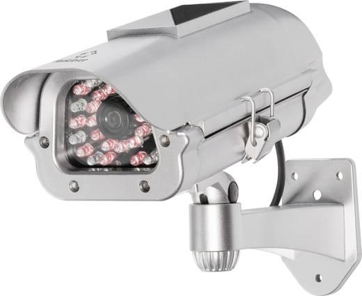 Kamera-Attrappe mit Solarmodul, mit IR-Simulation Renkforce 419706