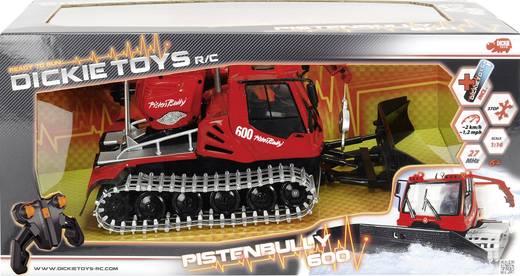 Dickie Toys Pistenbully 600 1:16 RC Einsteiger Funktionsmodell Einsatzfahrzeug inkl. Batterien