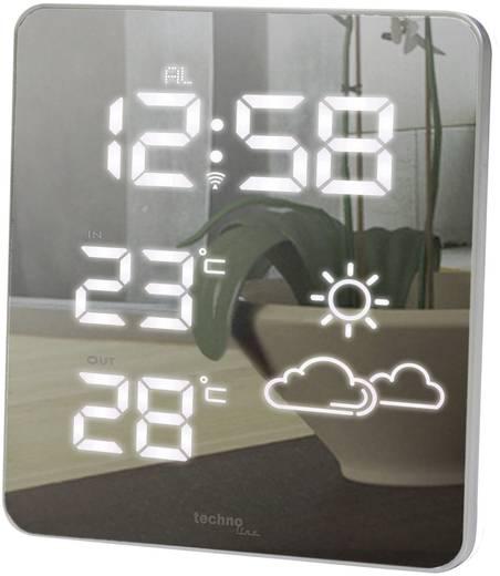 Funk-Wetterstation Techno Line LED Spiegel WS 6825