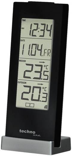 Funk-Thermometer Techno Line WS 9767 Schwarz