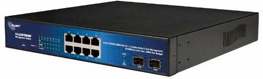 ALLNET ALL8809WMP / smart managed 8 Port HPoE Switch incl 2 Combo Ports (RJ/SFP)