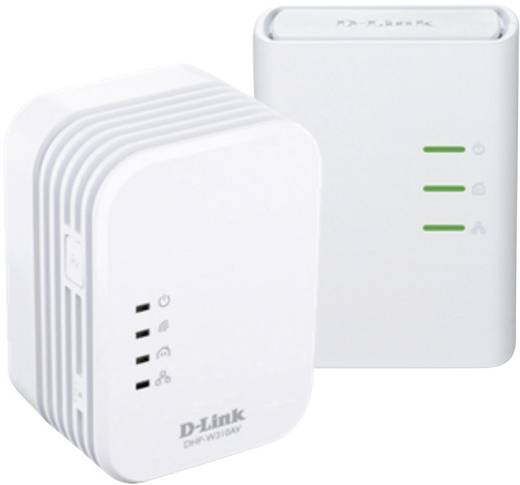 Powerline WLAN Starter Kit 500 MBit/s D-Link DHP-W311AV