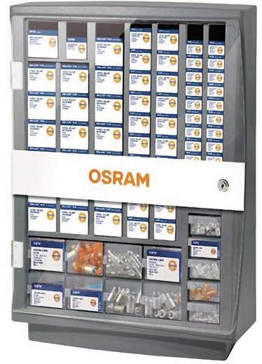 Leuchtmittelschrank (L x B x H) 190 x 405 x 572 mm OSRAM Autolampenschrank ohne Schloss Anzahl Fächer: 20 feste Untertei