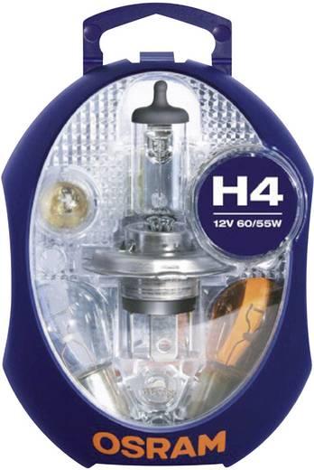 OSRAM Leuchtmittel-Sortiment Standard H4 60/55 W
