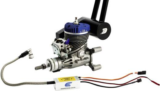 Evolution EVOE33GX Benzin 2-Takt Flugmodell-Motor 33 cm³ inkl. elektronischer Zündung