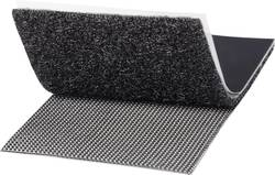 klettband zum aufkleben haft und flauschteil extrastark l x b 1000 mm x 50 mm schwarz. Black Bedroom Furniture Sets. Home Design Ideas