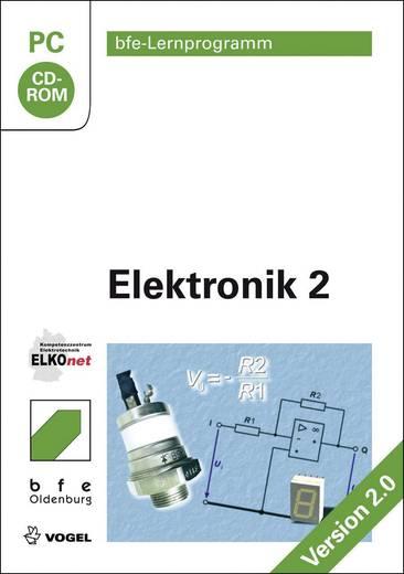 Lernprogramm - Elektronik 2 Vogel Buchverlag 978-3-834-33177-9