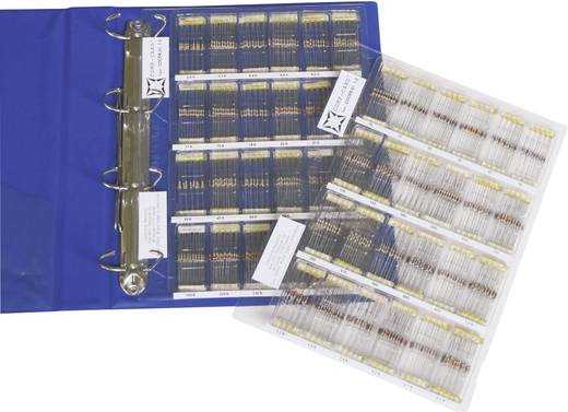 Kohleschicht-Widerstand Sortiment axial bedrahtet 0207 0.25 W NOVA by Linecard COCFR-01 1 Set