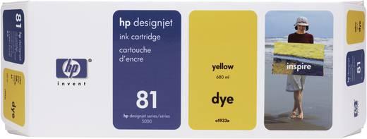 HP Tintenpatrone 81 Gelb C4933A