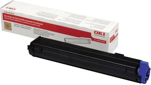 OKI Toner B410 MB460 MB470 MB480 43979102 Original Schwarz 3500 Seiten
