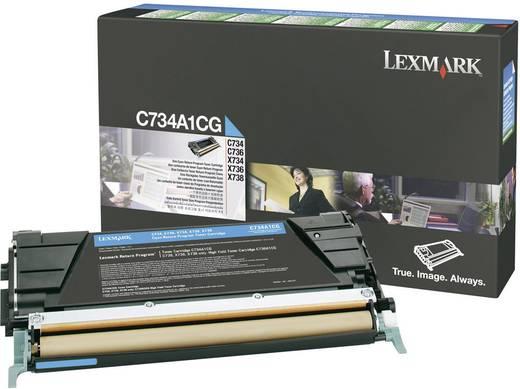 Lexmark Toner C734A1 C734A1CG Original Cyan 6000 Seiten