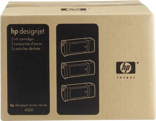 HP Tintenpatronen 3er-Pack 90 Schwarz C5095A