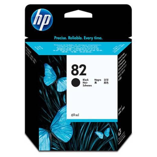 HP Tinte 82 Original Schwarz CH565A