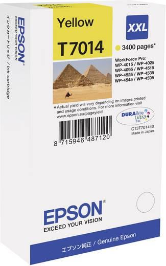 Epson Tinte T7014, XXL Original Gelb C13T70144010