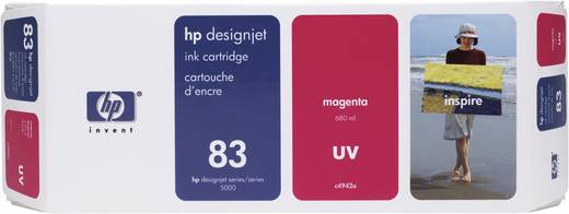 HP Tintenpatrone 83 Magenta C4942A