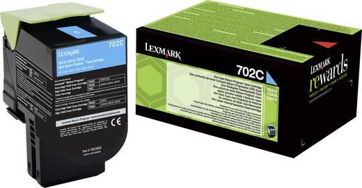 Lexmark Toner 702C 70C20C0 Original Cyan 1000 Seiten
