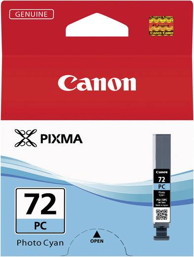 Canon Tinte PGI-72PC Original Photo Cyan 6407B001