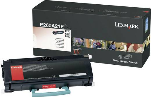 Lexmark Toner E260A31E E260A31E Original Schwarz 3500 Seiten
